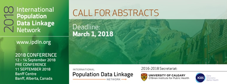 2018 International Population Data Linkage Conference
